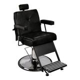 Cadeira De Barbeiro Milão Pé Cálice Cromado - Pronta Entrega