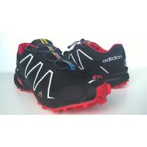 Adidas Speedcross Vermelho Masculino - Frete Gratis