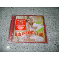 Cd - Britney Spears Circus Com 1 Faixa Bonus