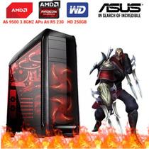 Cpu Pc Gamer Amd A6 9500 Dualcore Ddr4 4gb Ati Radeon R5 230