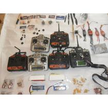 Radios, Motores, Esc, Servos, Baterias, Helices