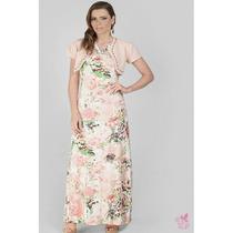 Vestido Longo Rosê - 9537