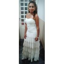 Vestido De Noiva Cor Creme (champanhe)