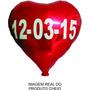 Balão Metalizado Personalizado Com Data Para Casamento