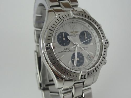 d5936d1ffc1 Relógio Breitling Colt Chrono Ocean A53050 - Original. Preço  R  4900 Veja  MercadoLibre