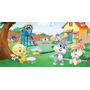 Painel Decorativo Festa Looney Tunes Baby [2x1m] (mod1)