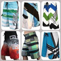 Kit 5 Shorts Tactel Maculino Barato Surf Praia