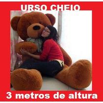 Urso Gigante De Pelucia Teddy Bear - 3 Metros Pronta Entrega