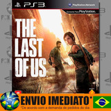 The Last Of Us Ps3 Mídia Digital Psn Dublado Em Português