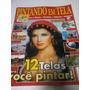 Revista Pintando Em Tela 04 - 12 Telas Para Você Pintar