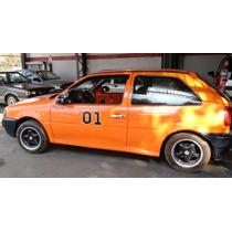 Volkswagen Gol 1.6 2p Tração Traseira Drift Burn-out Show!!