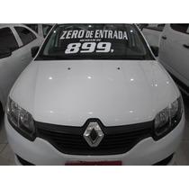 Renault Sandero Sce Motor Novo Zero De Entrada + 60 X 899,00