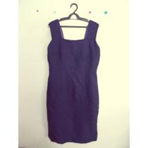 Vestido Tubinho Azul-marinho Cód. 382