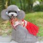 ** Vestido Chinês Para Cães E Gatos | Pronta Entrega !!! **