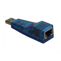 Placa Adaptador Usb Rede Rj45 Lan Ethernet 10/100 Rj 45