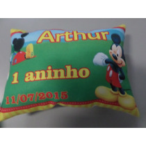 Almofada Personalizada Lembrancinha Aniversário Mickey