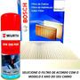 Filtro Ar Condicionado Cabine De Carro Bosch + Higienizador Original