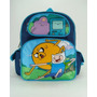 Pequena Mochila Adventure Time Funny Faces 630300