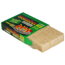 Kit Acendedor De Churrasqueira E Lareira 12 Caixas 72 Cubos