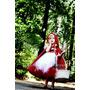 Vestido Chapeuzinho Vermelho Luxo