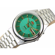 Relógio Orient Automatico Classico Aço Masculino 21 Jewels