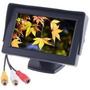 Kit 2 Telas  Monitor Veicular 4.3 Vídeo Lcd Uso Universal