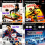 Jogos Fifa Street 1 E 2 + Fifa 14  + Pes 2014 Ps2 Patch Original