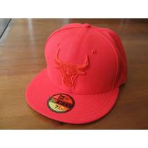 Boné New Era 59fifty Chicago Bulls All Red Nba 7 1/4 | 57,7c
