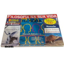 Kit Filosofia 4 Revistas + 2 Livros Foucault Niet Frete Grát