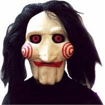 Máscara Jigsaw Puppet (jogos Mortais) - Fantasia, Halloween