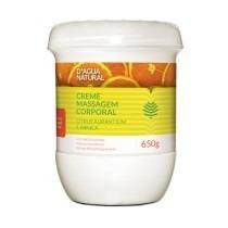 Dagua Natural Creme De Massagem Citrus 650g