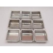Forminha Para Pão De Mel Quadrado Pequeno Aluminio