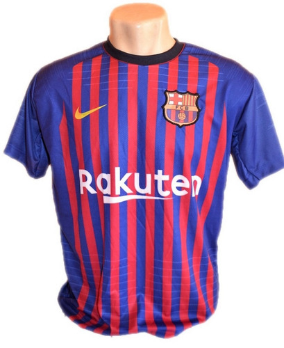 Camisa Barcelona Nova Bordado Barato Azul Preta Messi 2019 edd1317d5fbed