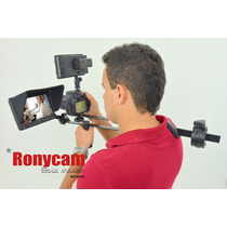 Suporte De Ombro Ronycam Basic Shoulder Dslr E Filmadoras
