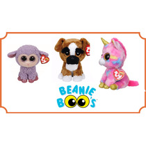 Beanie Boos Kit, Ovelha, Unicórnio E Cachorro Colecionável.