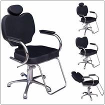 Cadeira Ágata Para Salão De Beleza Com Reclínio