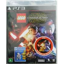 Lego Star Wars O Despertar Da Força Ps3 Portugues Novo