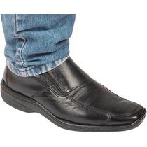 Sapato 100% Couro Antstress Diabéticos Pés Sensiveis 821