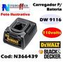 Carregador P/bateria Original Dw 9116 110v Black&decker
