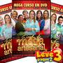 Kit Dvds Estrelas Da Mega Artesanal Volumes 1, 2 E 3 (compre