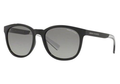 Oculos Sol Armani Exchange Ax4050sl 818611 Preto Brilho Degr f921d35ea4