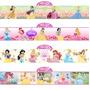 Adesivo Princesas Disney Faixa Border Auto Colante 100x15