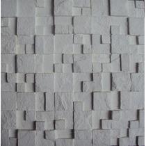 Revestimento Cimentício Mosaico De Pedrinhas Brancas