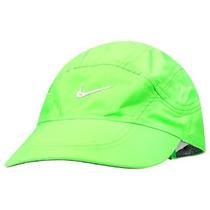 Boné Nike Dri-fit Spiros Original - Cor Verde + Prata
