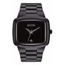 Relógio Nixon Big Player 44mm Preto Com Pedra Diamante