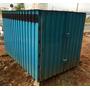 Container Com Banheiro Para Obra Usado Em Bom Estado 2mx3m