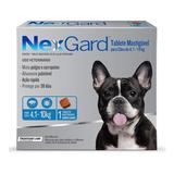 Antipulgas E Carrapatos 28,3 Mg Cães De 4 A 10kg M Nexgard
