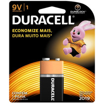 Duracell Duralock Pilha Alcalina - 9v C/ 1