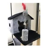 Arranhador Para Gato Casa Com Rede