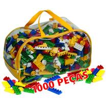 Blocos De Montar 1000 Peças - Brinquedo Educativo Lego***